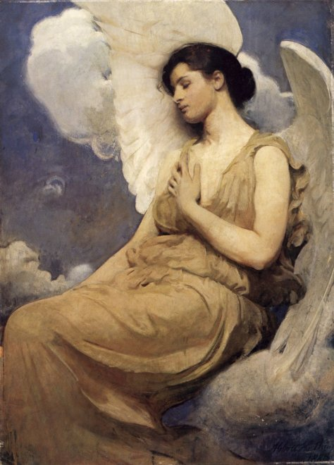 ABN Washington D.C. God the Mother as an Angel of Mercy By Abbot Henderson Thayer