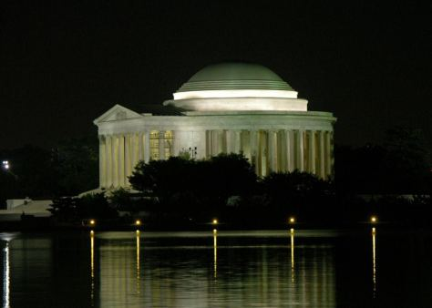 Angelcraft Broadcast Network Washington District of Columbia-Jeffmemorial light