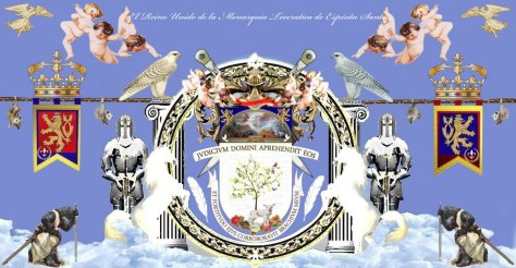 Escuda - Governmental Coat of Arms of Principe Jose Maria Chavira MS ABN Washington D.C. District of Columbia in God We Trust