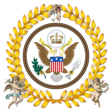 The Great Seal of the Theocratic Voting Monarchy and Sovereignty of the United States of America One Theocracy under God
