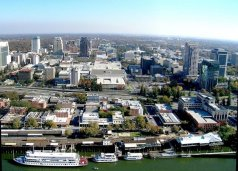 Republic of California Aerial View of Sacramento 1
