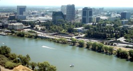 Republic of California Aerial View of Sacramento 2