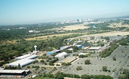 Republic of California Aerial View of Sacramento the CA The State Fair Grounds
