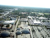 Republic of California Sacramento, CA Centry Theater (domes) at Arden Way and Howe ave.