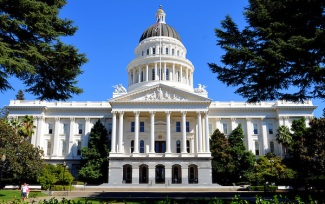Republic of California Sacramento the State Capital