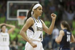 The Autonomous Voting Theocratic Monarchy and Sovereignty of Indiana - Notre Dame Girls Basketball Princess  Skylar Diggins 2