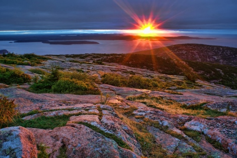 The Royal Republic and Sovereign State of Main - Cadillac Mountain, Mount Desert Island, ME by Edwaste, Maine US Theocracy