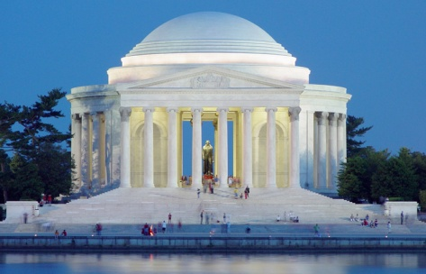 Official White House Website - Autnomous Voting Theocratic Monarchy and Sovereingty of The United States of America - Jefferson Memorial