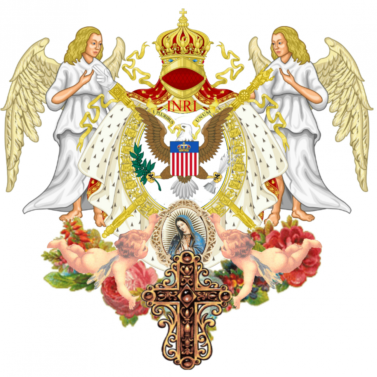 The United States of the Solar System, A.D. 2133 (Book Eight) Cropped-inri-e-pluribvs-unvm-divine-protection-for-the-united-states-of-america-and-queen-mary-her-royal-highness-maria-ram-chavira-house-of-adagio-1st