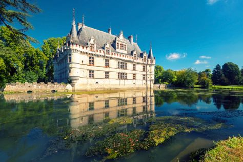 Central France Castles and Wine in the Loire Valley city of Bourges in central France