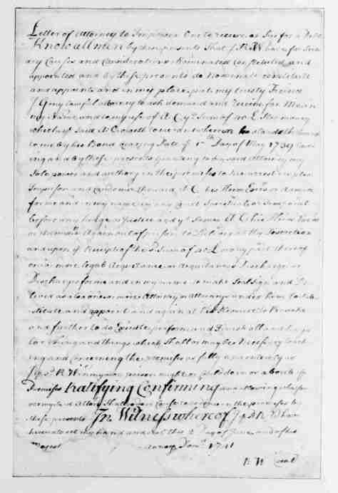 Page 11 American Preservation Society - Entry 10- Letter of Attorney -American Preservation Society Theocracy of the United States of America
