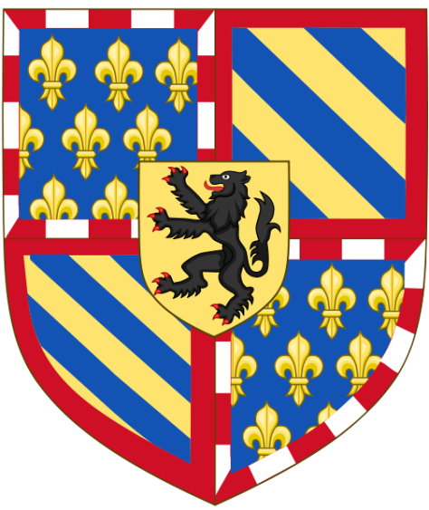 The National Gallery Digital Collection -Coat of Arms of_the Duke of Burgundy 1404-1430 Valoise Dynasty