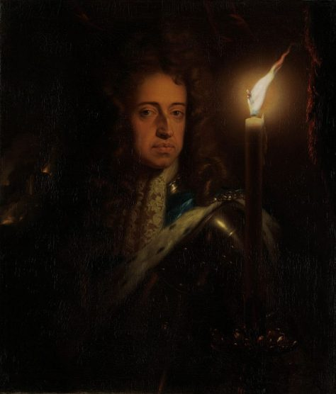 US National Gallery Digital Collection - Oil on Canvas - The Candle and Night Market Art Collection Belgium and Euromasters-- Godfried Schalcken 1643-1706 Oleo Sobre Lienzo - Guillermo III Englatera