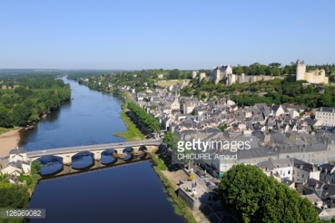 Vienne River Chinon,City Theocraacy of France