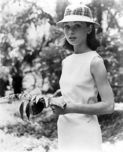 "Audrey Hepburn in the Belgian Congo during the making of ""The Nun's Story"" 1958 © 1978 Leo Fuchs"