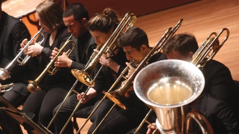 The Juilliard Orchestra performing at Alice Tully Hall on Thursday night, May 22, 2014. Credit: Hiroyuki Ito