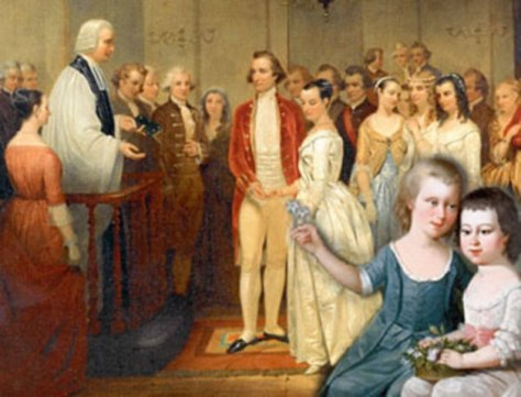 01-george-washington-his-marriage-to-widow-martha-dandridge-custis-on-6-january-1759