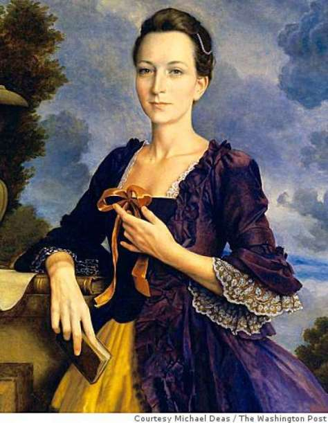 first-lady-martha-dandridge-custis-portrait