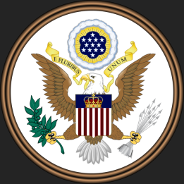 The Great of the United States of America Vector Justice Grey Background